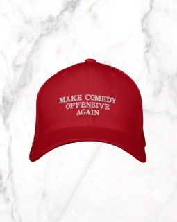 Make Comedy Offensive Again Hat - Marble 1