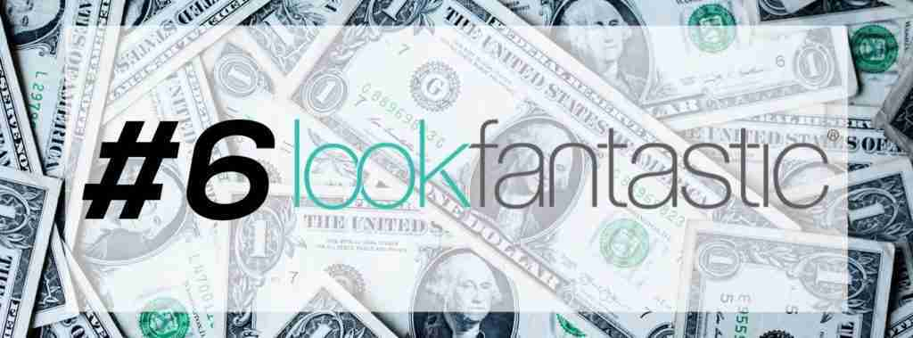 Free Money with LookFantastic