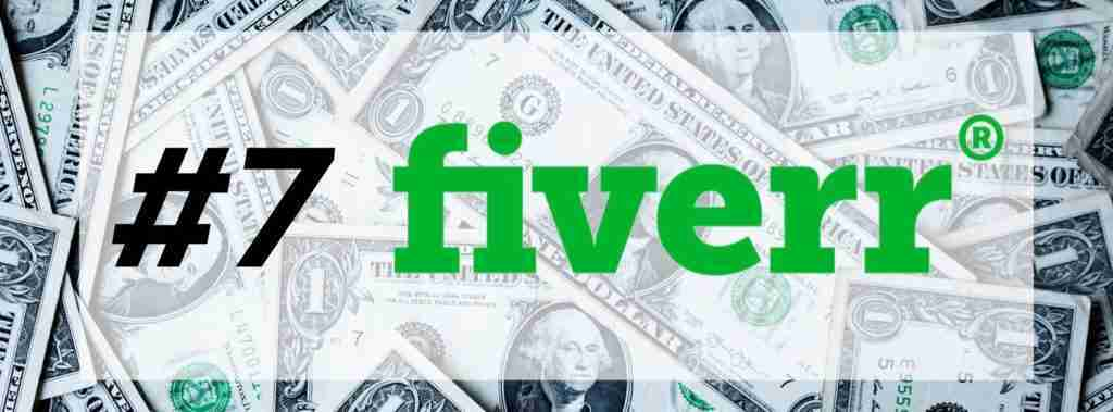 Free money with FIVERR