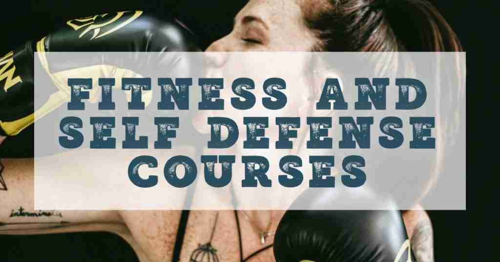 Fitness and self defense courses online