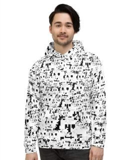 Anti Face Recognition Hoodie