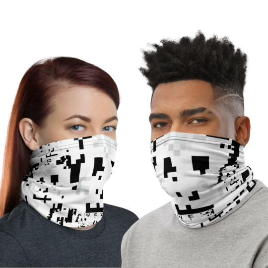 Anti Face Recognition Mask /Neck Gaiter