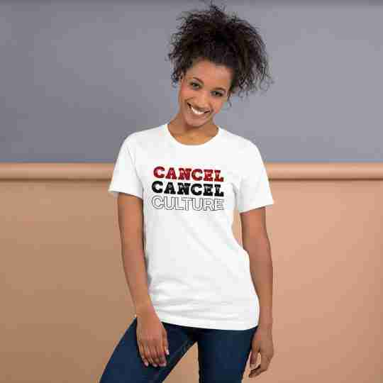 Cancel cancel culture t shirt