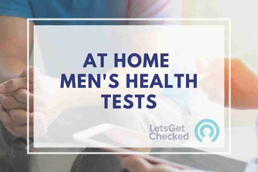 LetsGetChecked discount - At Home Men's Helath Tests