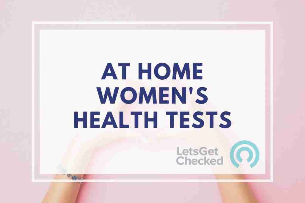 LetsGetChecked discount code - At Home Women's Health Tests