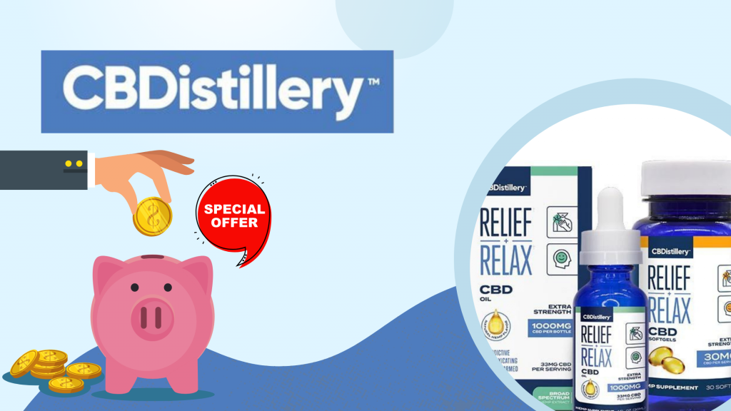 CBDistillery Coupons and Discount Codes